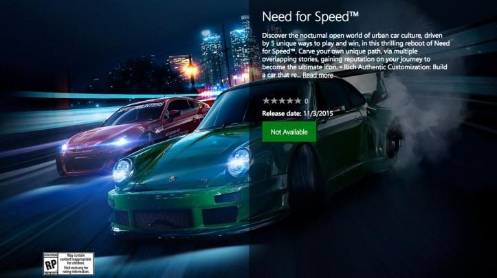 Известна дата релиза новой Need for Speed
