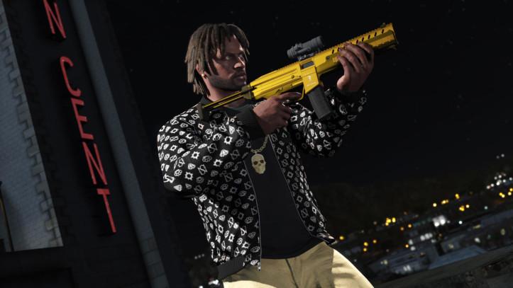 Золотое оружие в GTA Online