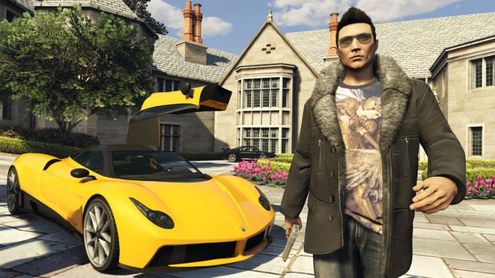 Элитный спорткар в GTA Online