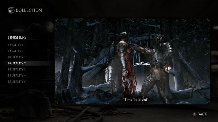 Mortal Kombat Predator Brutality