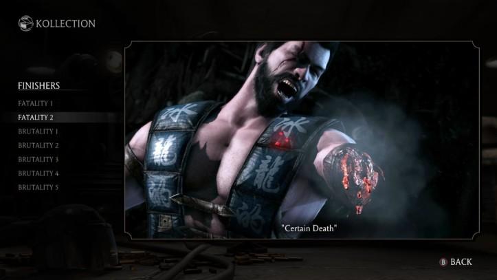 Mortal Kombat Predator Fatality