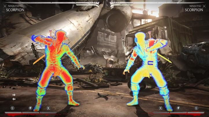 Mortal Kombat Predator Pack Scropion Infrared