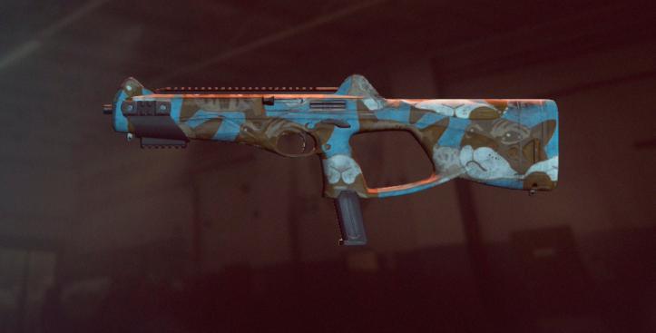 Пистолет-пулемет Beretta MX4 в оформлении Catz