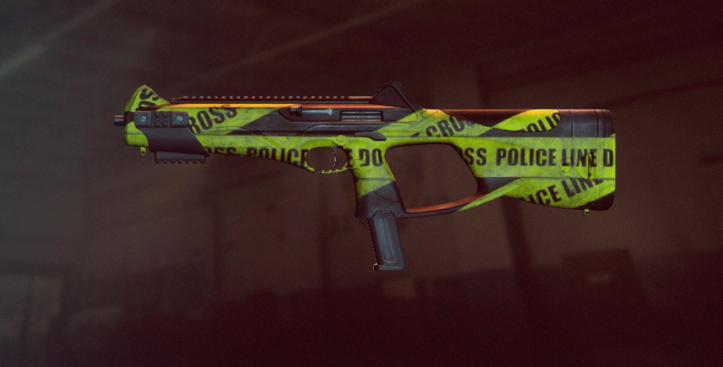 Пистолет-пулемет Beretta MX4 в оформлении Polize