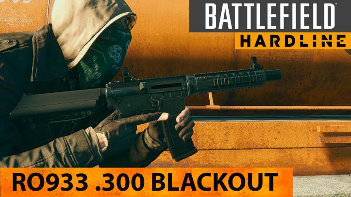 Battlefield Hardline. Карабин RO933 .300 Blackout