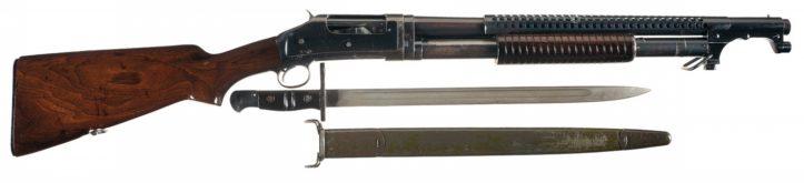 окопное ружье Winchester M1897