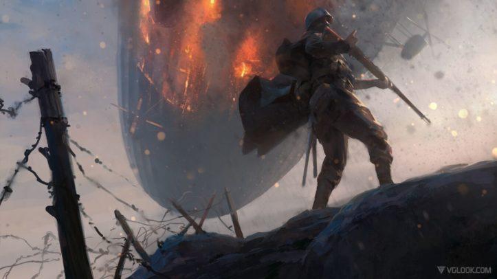 Концепт-арт Battlefield 1