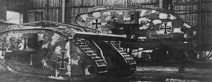 Захваченный немцами Mark IV