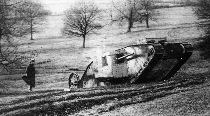 "Первый тяжелый танк Mark I ""Mother"""