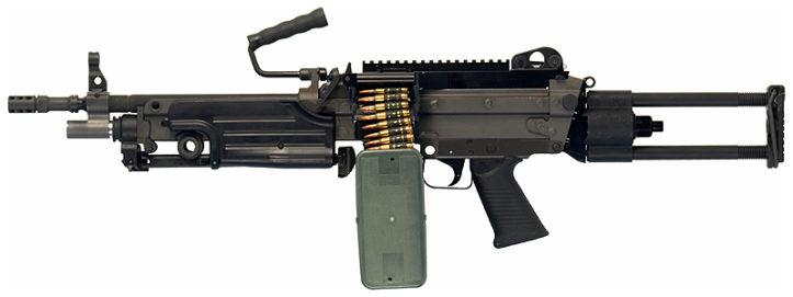 Ручной пулемет M249
