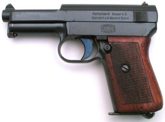 Пистолет Mauser 1914 Pocket Pistol под патрон 7.65x17 мм SR.