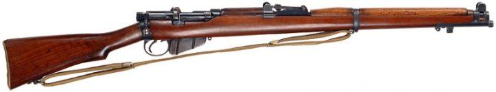Британская винтовка Lee-Enfield No.1 Mk.III* под патрон .303 British.