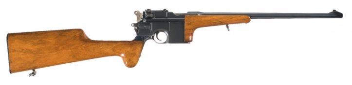 Mauser C96 Carbine под патрон 7.63x25 мм Mauser