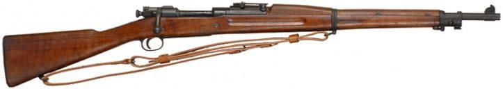 Винтовка Springfield M1903 Mk 1 под патрон .30-06.