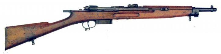 Итальянская винтовка Cei-Rigotti под патрон 6.5×52 мм Mannlicher.