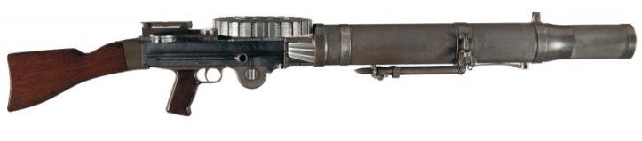 Ручной пулемет Льюиса под патрон .303 British.