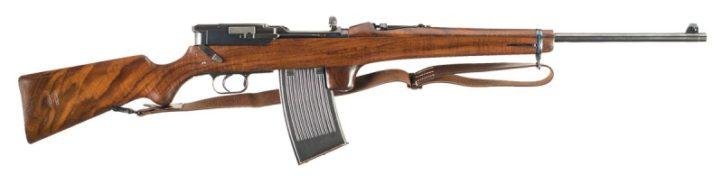 Mauser Selbstlader M1916 под патрон 7.92x57 мм Mauser.