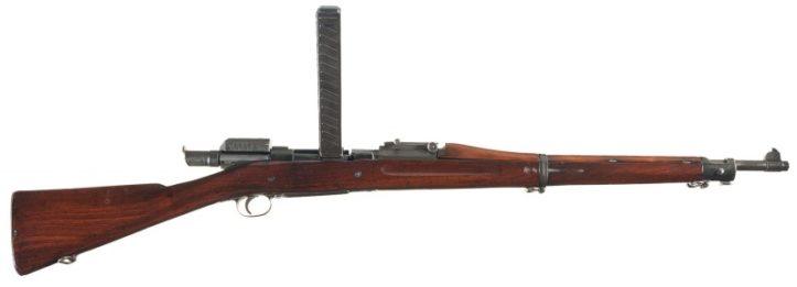 M1903 Mk 1 Springfield с устройством Педерсена. Патрон .30-06.