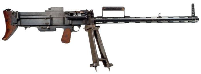 Ручной пулемет Bergmann MG 15nA под патрон 7.92x57 мм Mauser.