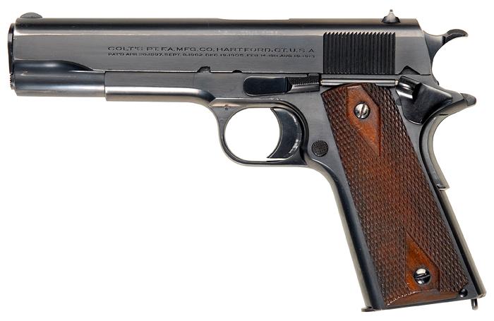 Colt M1911 (выпуска 1913) - .45 ACP