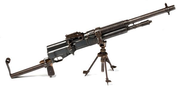 Ручной пулемет Hotchkiss Mk.I под патрон .303 British.