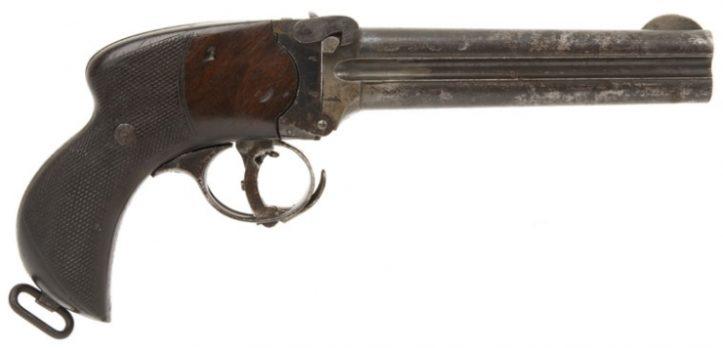 Lancaster Over & Under Howdah Pistol - .476 CF