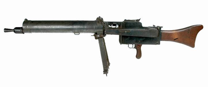 Пулемет Maxim MG08/15 под патрон 7.92x57 мм Mauser.