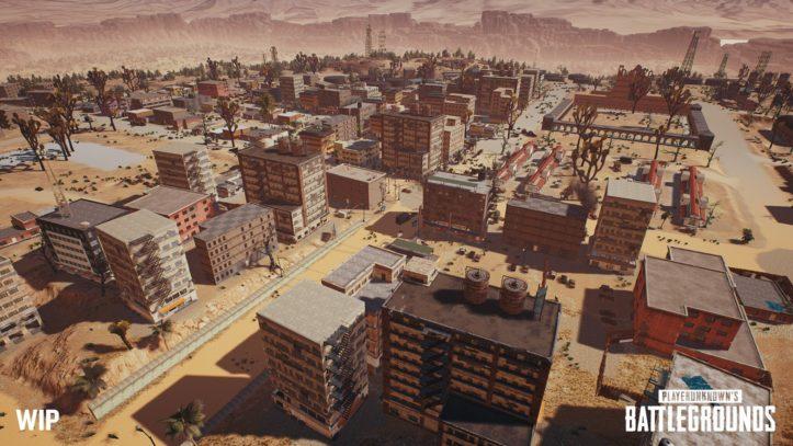 Новая пустынная карта для PlayerUnknown's Battlegrounds