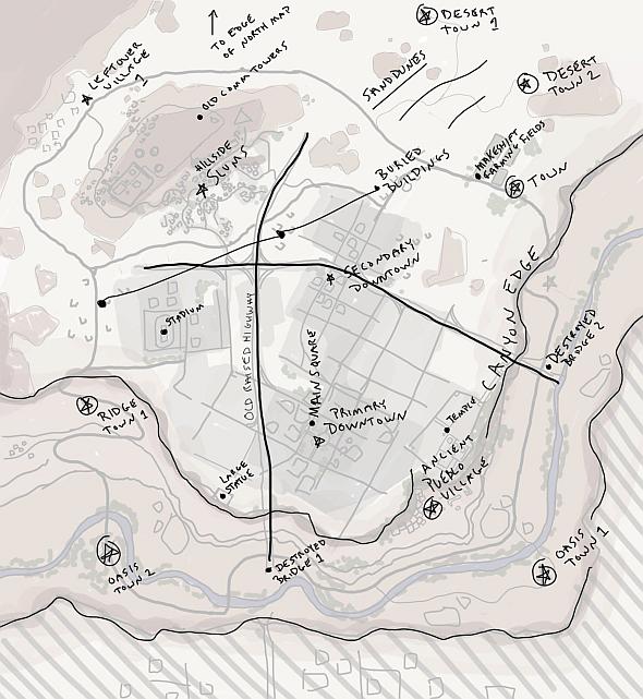 Пустынная карта PlayerUnknown's Battlegrounds будет размером 8х8 км