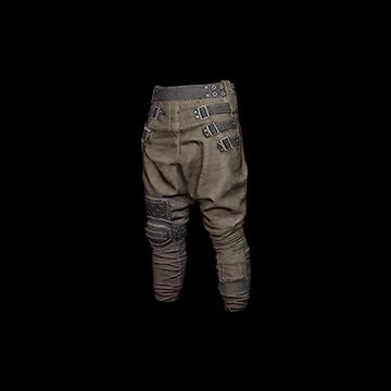 Baggy Pants (Brown) : 5.00%