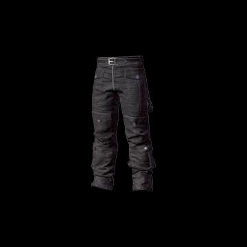 Biker Pants (Black) : 0.40%