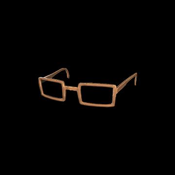 Horn-rimmed Glasses (Brown) : 2.50%