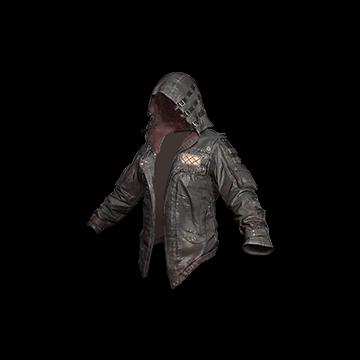 Leather Hoodie (Black) : 0.32%