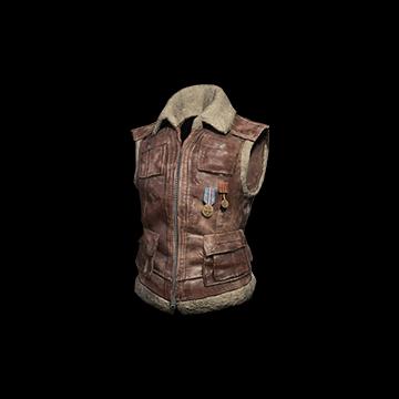 Sleeveless Biker Jacket (Brown) : 0.01%