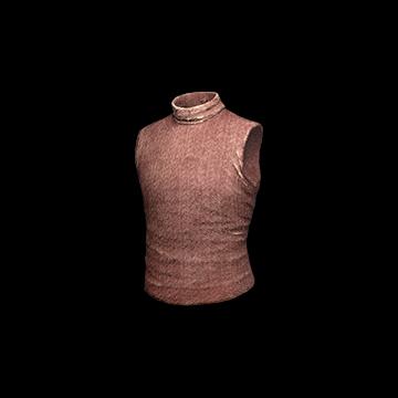 Sleeveless Turtleneck (Red) : 4.50%