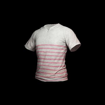 T-shirt (Pink striped) : 10.00%