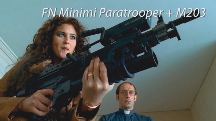 FN Minimi Paratrooper