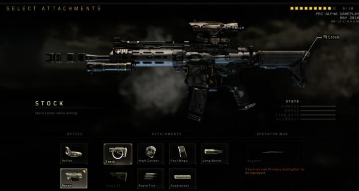 Оружие, перки, серии очков и снаряжение в игре Call of Duty Black Ops 4