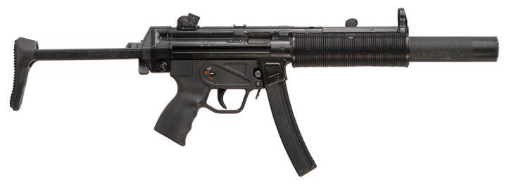 Пистолет-пулемет Heckler & Koch MP5SD3 - Все оружие в фильме Sicario (2015)