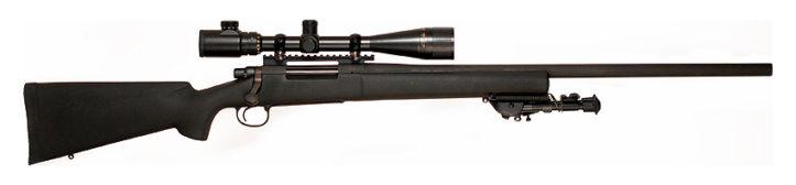 Снайперская винтовка Remington 700 PSS - Все оружие в фильме Sicario (2015)