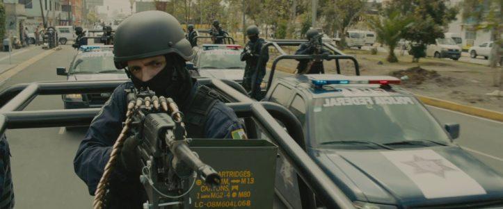 Пулемет FN M249-E2 SAW - Все оружие в фильме Sicario (2015)
