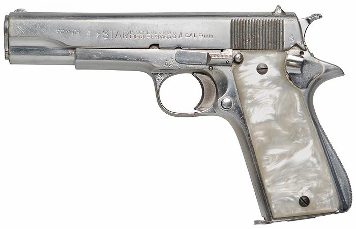 Пистолет Star Model B
