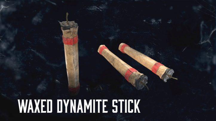 Waxed Dynamite Stick