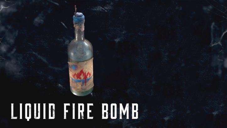 Liquid Fire Bomb