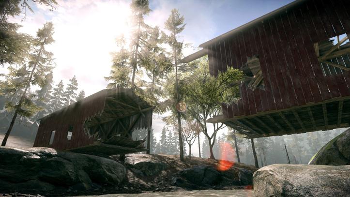 Известны детали о карте «Глухомань» (Backwoods) из первого DLC «Criminal Actrivity» к Battlefield Hardline