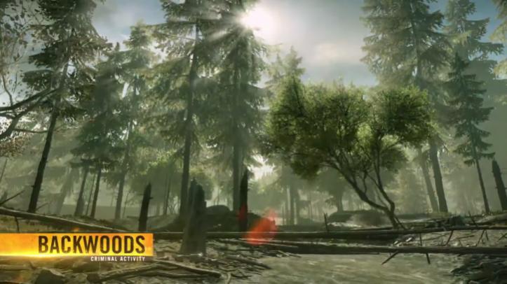 На этой неделе в Battlefield Hardline CTE попадет карта «Backwoods» (Глухомань)