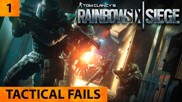 Tom Clancy`s Rainbow Six Siege. Tactical fails #1