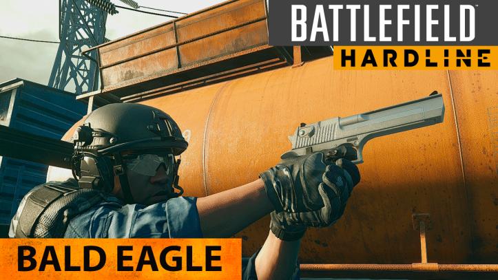 Battlefield Hardline. Король пистолетов Bald Eagle