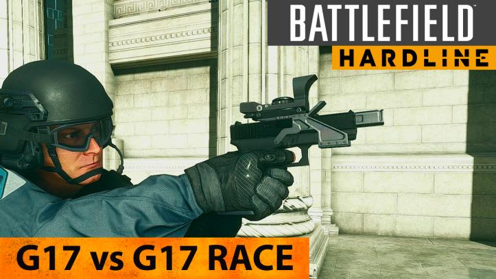 Battlefield Hardline. Пистолеты G17 и G17 Race