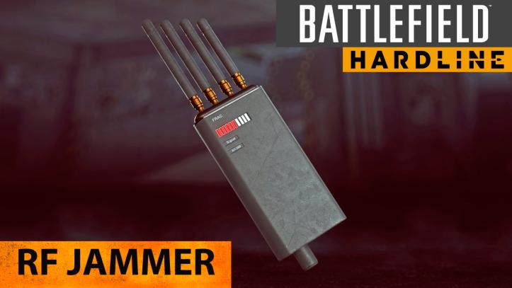 Battlefield Hardline. Глушилка радиосигналов RF Jammer